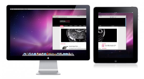 iDisplay for iPad & iPhone