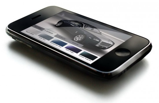 Rolls-Royce Ghost on iPhone