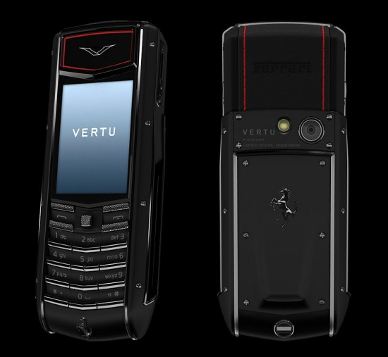 vertu ascent ti ferrari 2010 geek hype. Black Bedroom Furniture Sets. Home Design Ideas