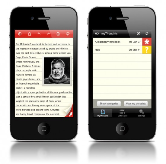 Moleskine for iPhone & iPad