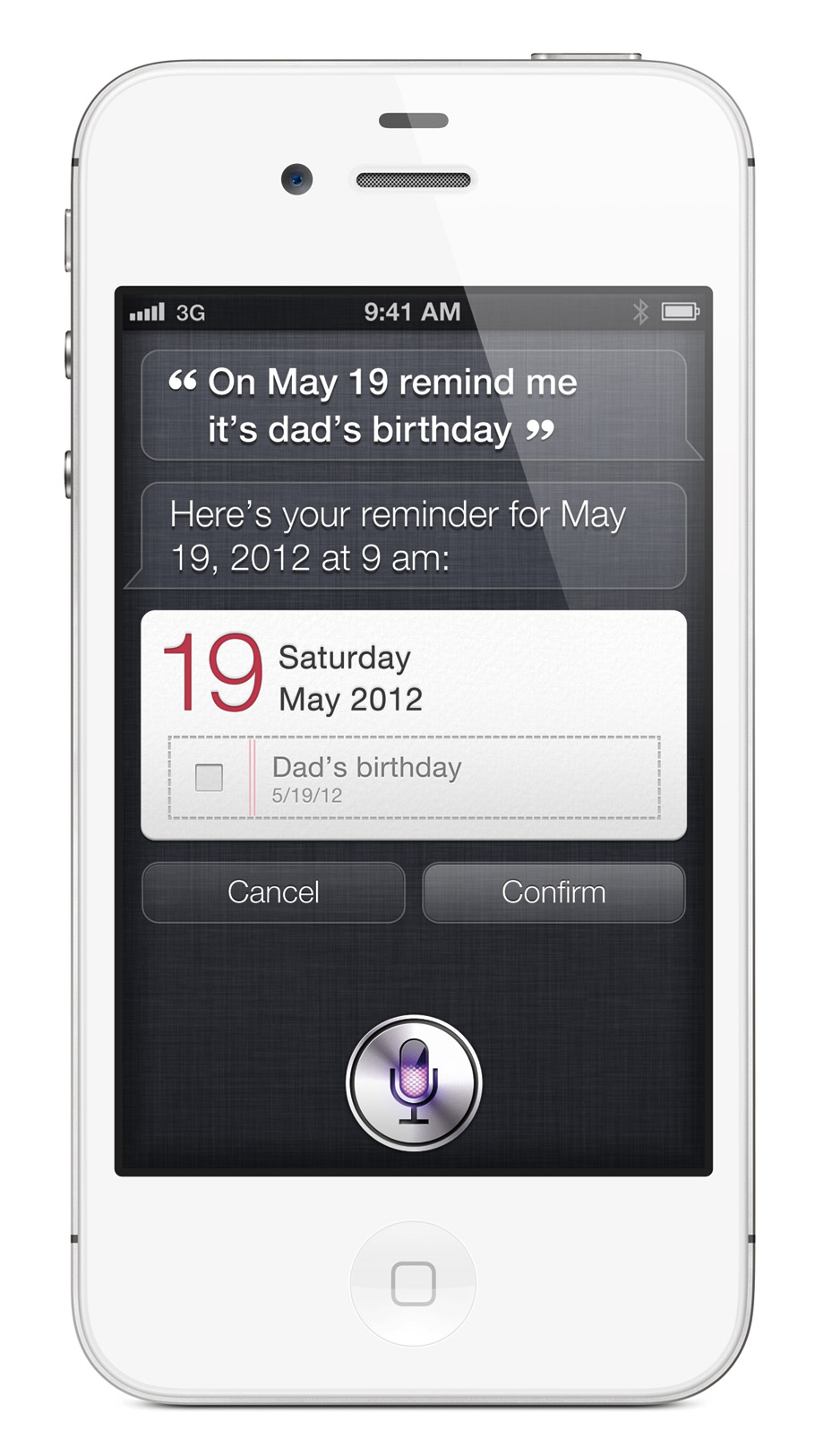 iPhone 4S White Siri