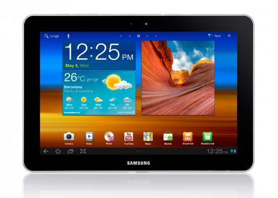 Gagnez un Samsung Galaxy Tab 10.1