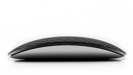 Image magic mouse carbon fiber 2 550x309   Carbon Fiber Magic Mouse