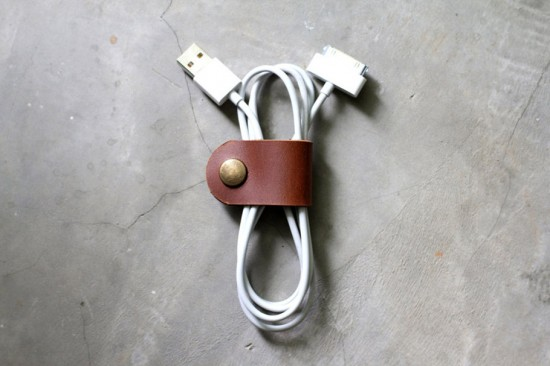 Image leather cable band 1 550x366   Leather Cable Band
