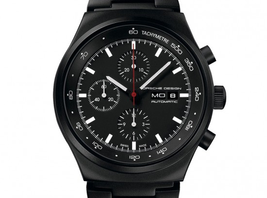 Image porsche design p6510 watch 550x407   Porsche Design P6510 Black Chronograph