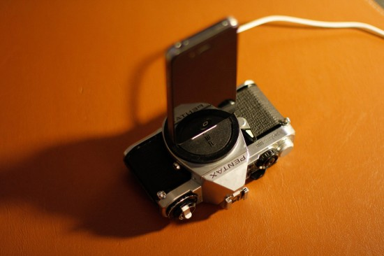 Vintage Camera iPhone Dock Charger