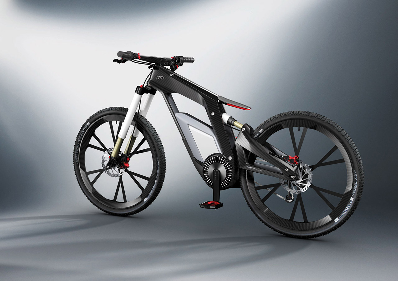 Audi e-bike wallpaper