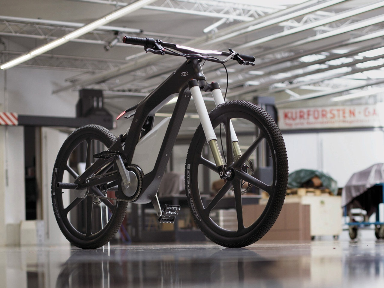 Audi e-bike concept photo