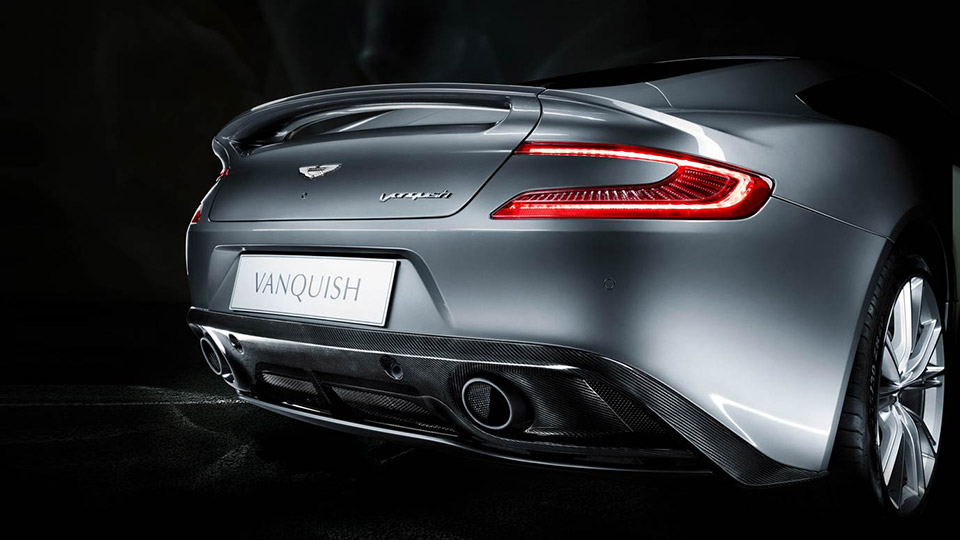 Aston Martin Vanquish license plate