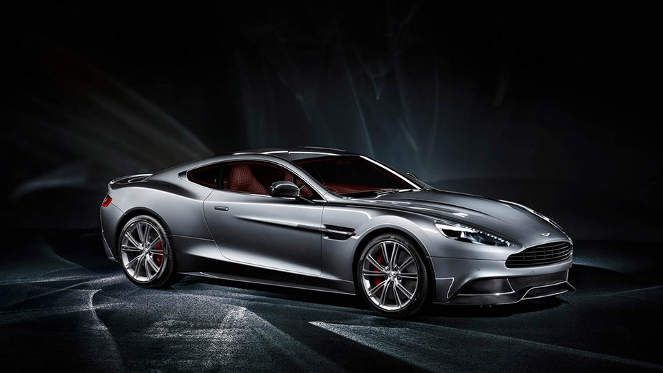 Aston Martin Vanquish grey
