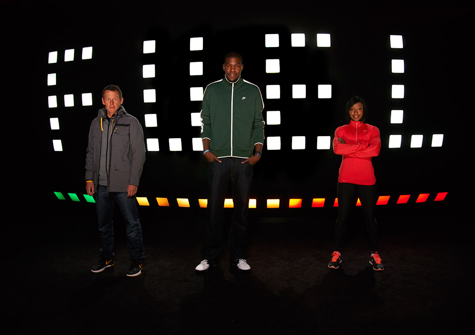 Nike+ FuelBand team