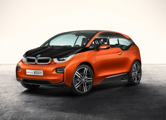 Image bmw i3 coupe concept 1 550x399   BMW i3 Coup Concept