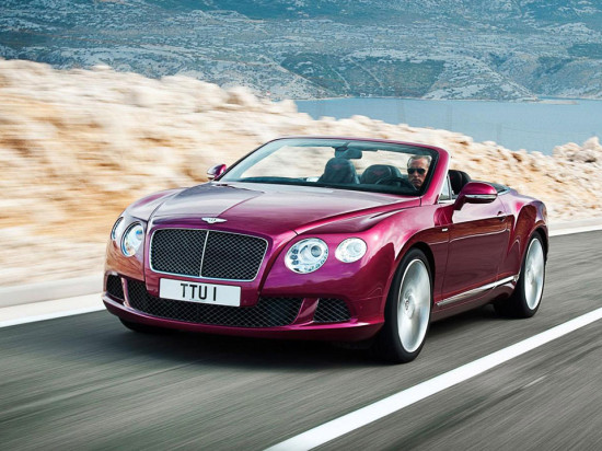 Image bentley continental gt speed convertible 1 550x412   Bentley Continental GT Speed Convertible