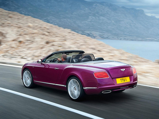 Image bentley continental gt speed convertible 3 550x412   Bentley Continental GT Speed Convertible
