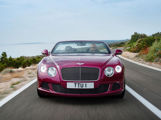 Image bentley continental gt speed convertible 4 550x412   Bentley Continental GT Speed Convertible