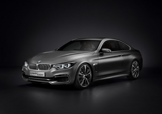 Image bmw concept 4 series coupe 1 550x386   BMW Concept 4 Series Coup