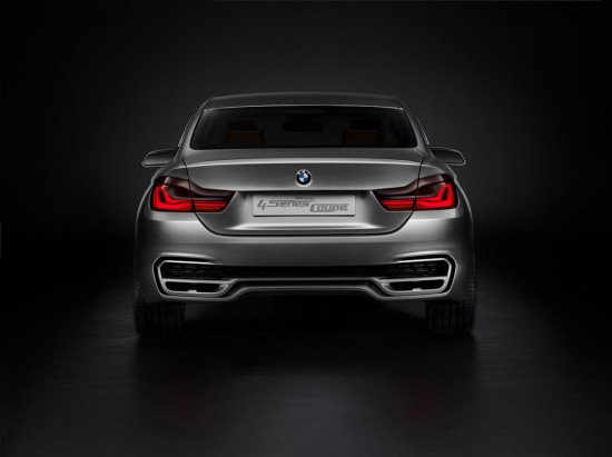 Image bmw concept 4 series coupe 5 550x411   BMW Concept 4 Series Coup