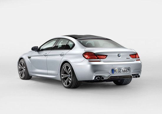 BMW M6 Grand Coupé side