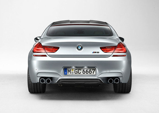 BMW M6 Grand Coupé rear