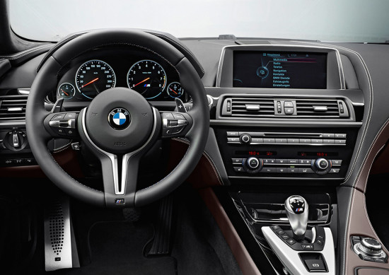 BMW M6 Grand Coupé interior