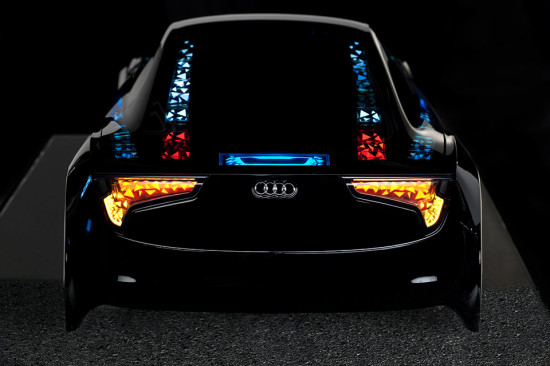 Image audi oled technology 1 550x366   Audi OLED technology
