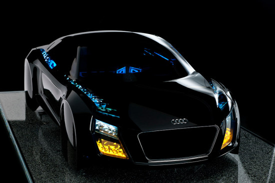 Audi OLED lighting