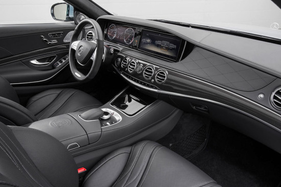 Mercedes-Benz S63 AMG interior