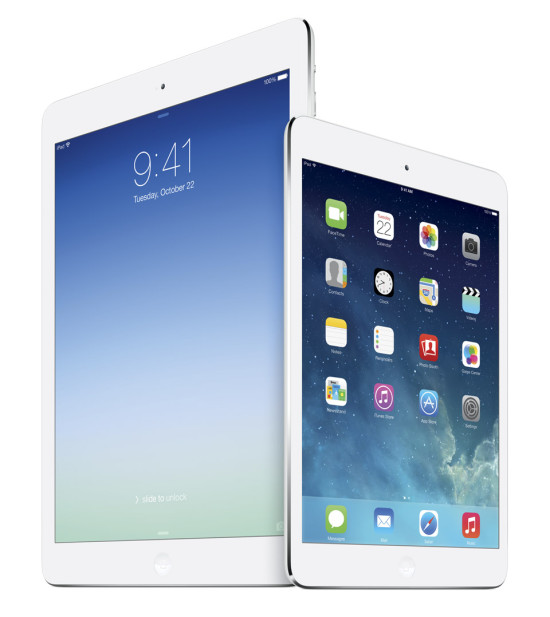 iPad Air and mini
