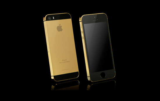 Apple iPhone 5s Gold Black