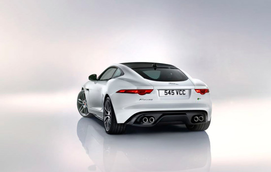 Jaguar F-Type R Coupé back