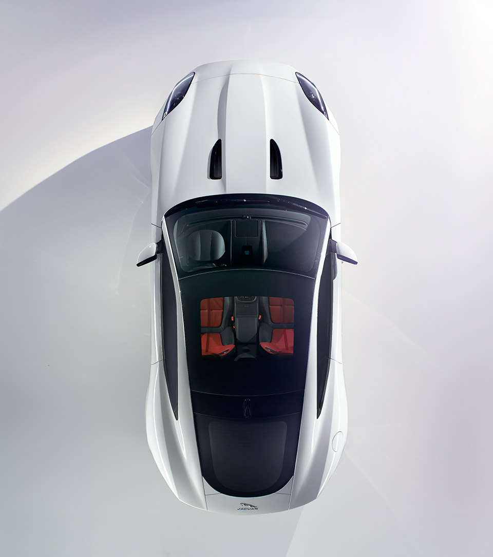 Jaguar F-Type R Coupé top