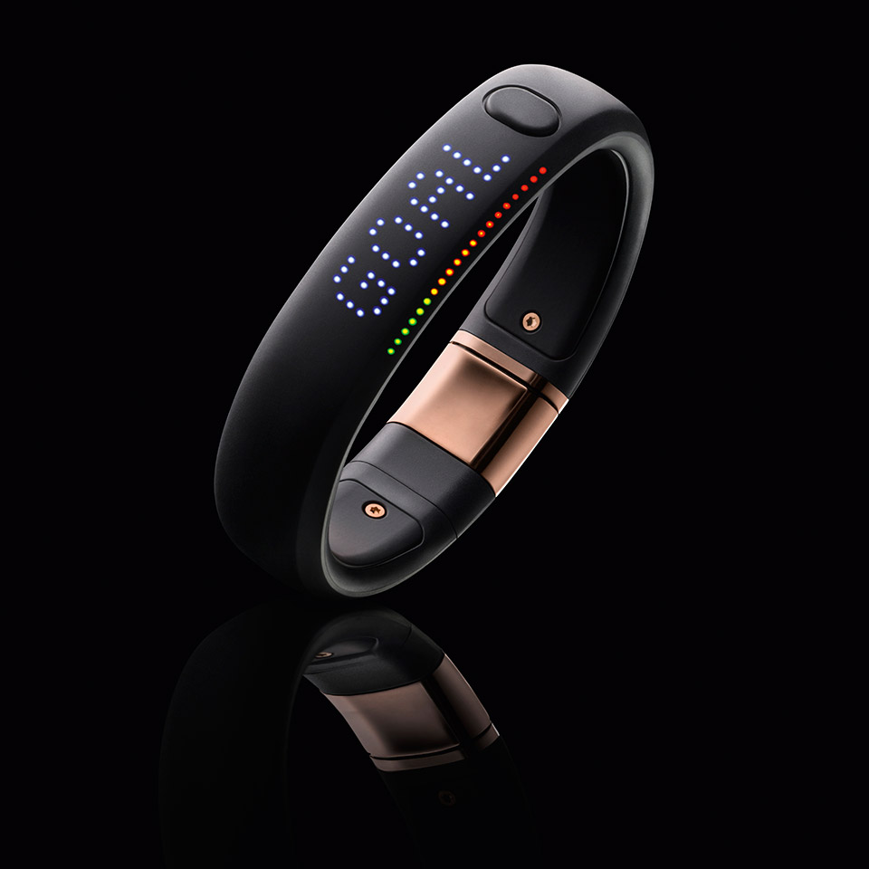 Nike Fuel Band Rose Gold
